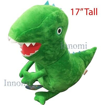 17  Tall George Dinosaur Peppa Pig Plush Doll Soft Stuffed Animal Toy