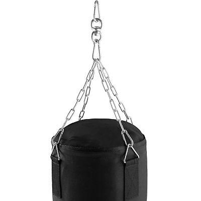 Boxsack gefüllt 25kg 105cm mit Halterung Drehwirbel Stahlkette Sandsack Box Set  - 2