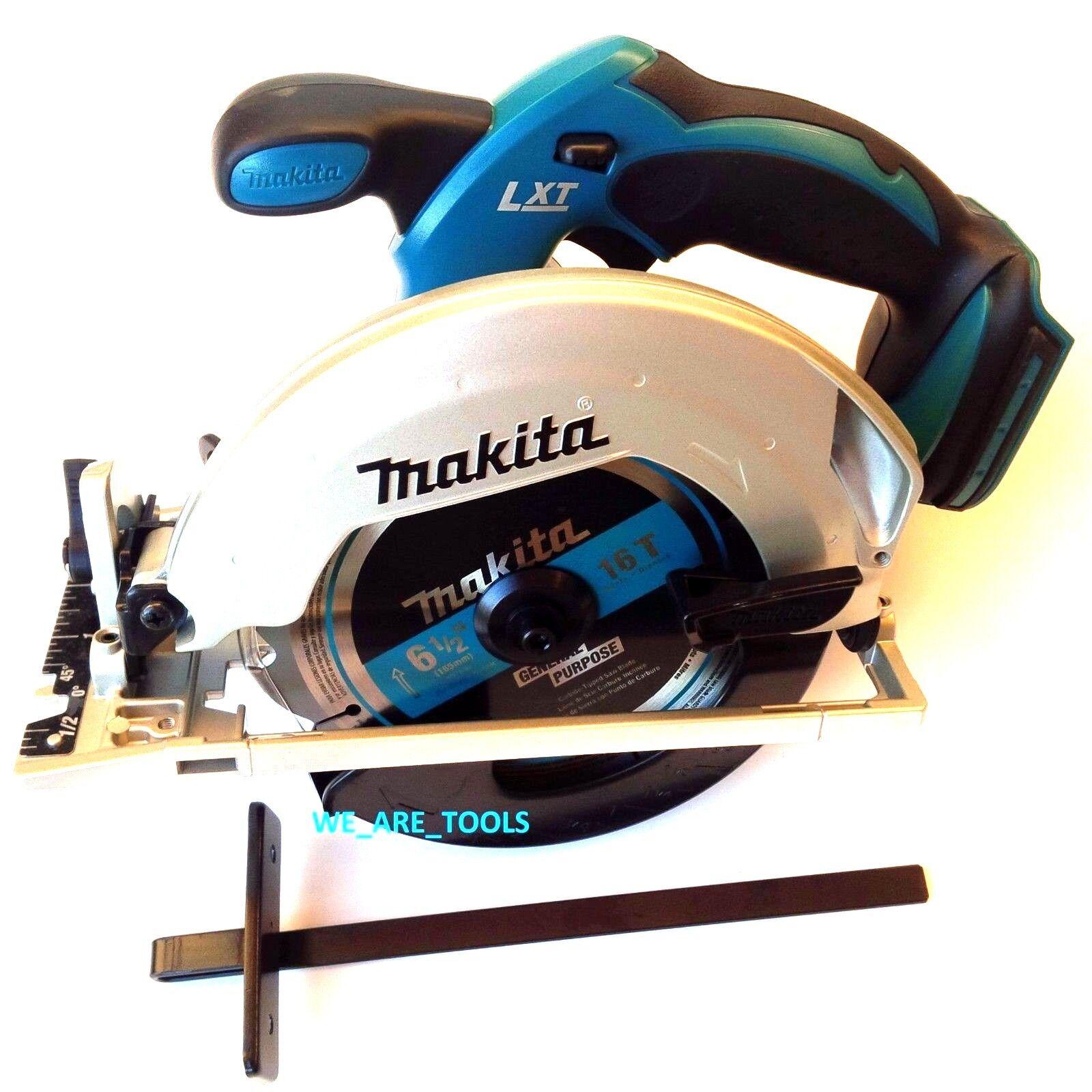 New Makita XSS02 Cordless Battery Circular Saw 18 Volt W/ Blade 18V LXT 6 1/2