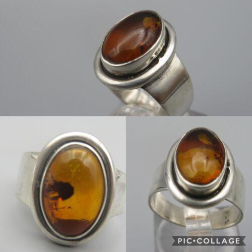 Bernstein Ring Silber 925 Gr.53 (A)