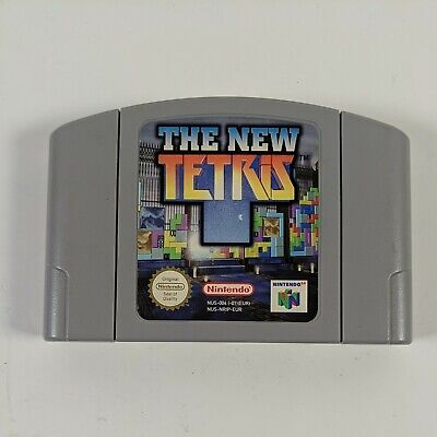 The New Tetris - Nintendo 64 (N64) - PAL - Cartridge Only - Free P&P