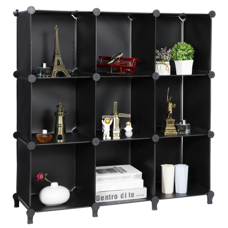 9-Cube Closet Organizer Storage Shelves Cubes Organizer Book Shelf DIY Cabinet