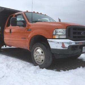 2003 f450 dump truck 7.3 power stroke