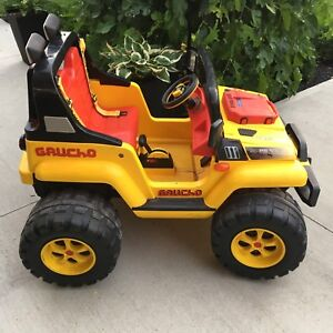 Jeep Peg Perego Gaucho with Battery/Charger