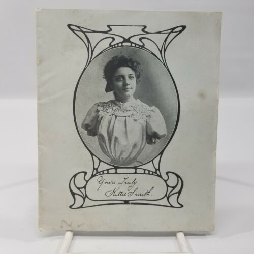 Original Kittie Smith Armless Dynamo Woman Circus Sideshow Freak Pitch Book