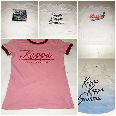 Lot Of 5 Kappa Kappa Gamma ASU Sorority Shirts Size Small