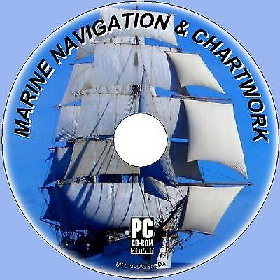 LEARN 2 READ MARINE CHARTS + NAVIGATION MAPS PLOT COURSES TIDES ETC PC CD NEW  Marine Charts