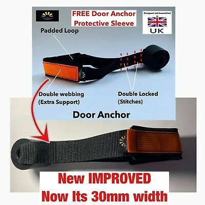 NEW Door Anchor PADDED for All Types Of Resistance bands FREE PROTECTIVE SLEEVE