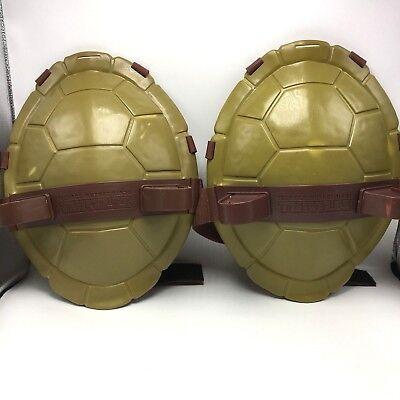 Teen Twin Costumes (Teenage Mutant Ninja Turtle Shell 2 Shields Halloween Costume Cosplay Twins)