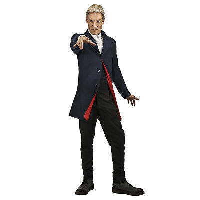 Adult Men's Dr WHO 12th Doctor Peter Capaldi Cosplay Costume Jacket S/M L/XL XXL