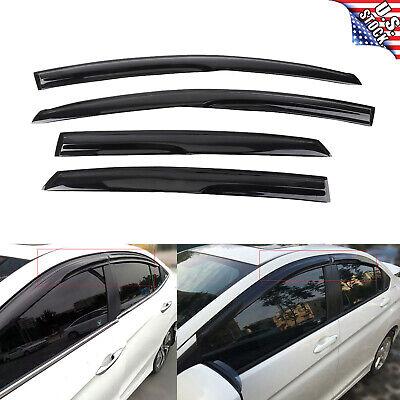 4 For 2013 2018 Nissan Sentra Sun Rain Guard Vent Shade Window Visors Deflectors
