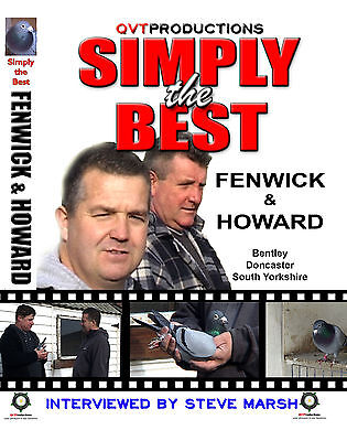 FENWICK & HOWARD RACING PIGEON DOUBLE DVD