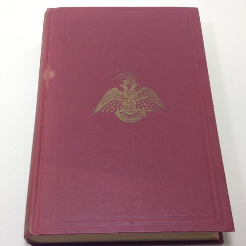 1951 Book MORALS & DOGMA of the Ancient & Accepted Scottish Rite of FREEMASONRYj