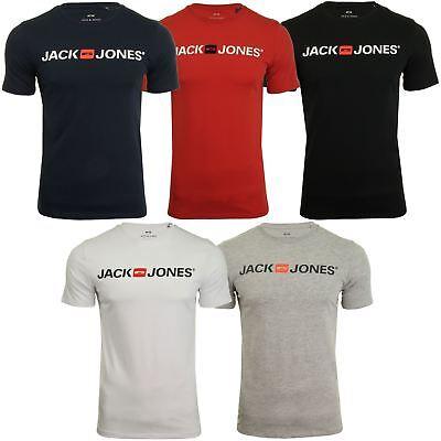 Jack & Jones Mens 'JJECORP' T-Shirt