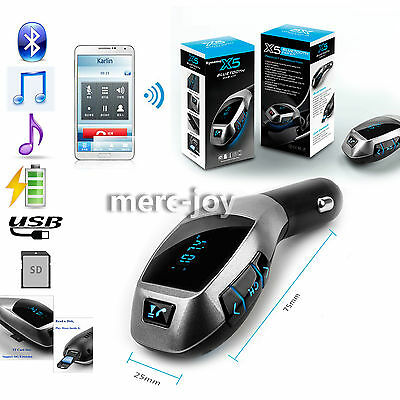 2016 Newest Radio Adapter Car Kit Bluetooth Fm Transmitter Music Call Mp3 Player