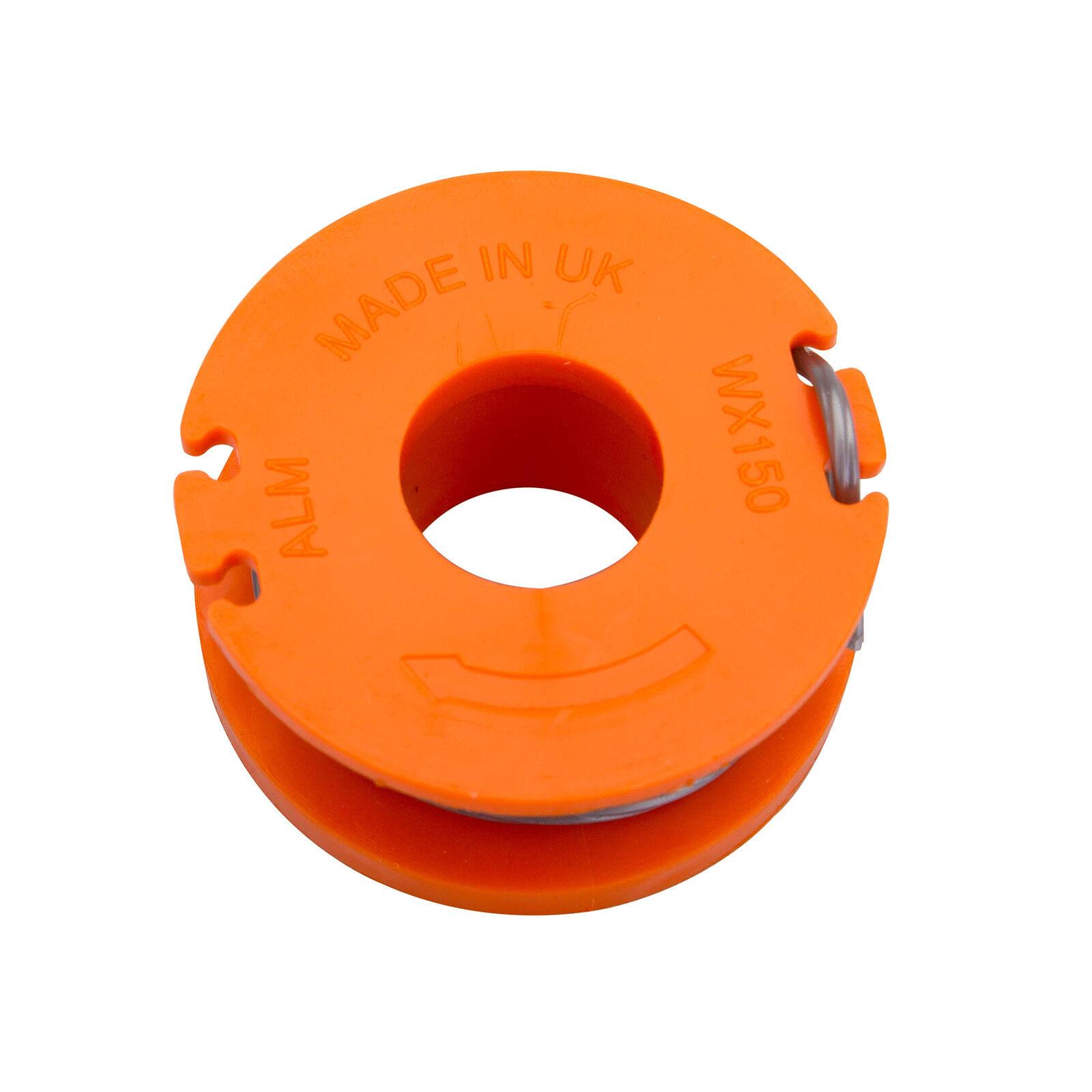 3 x Spool And Line Fits Qualcast CGT18LA 105328 18V Cordless Strimmer CGT25