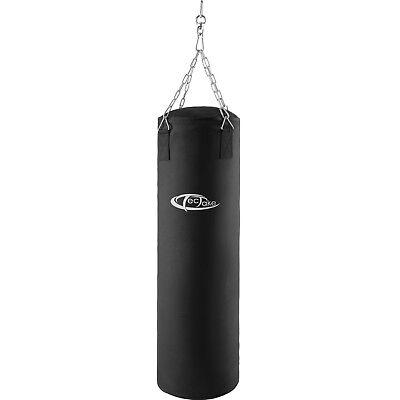 Sacco da boxe pieno 25kg con sospensione pugilato allenamento sport 105cm