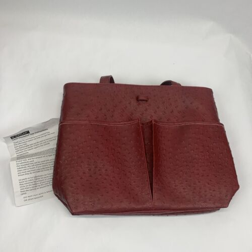 Sachi Tote Insulated Cooler Red Travel Bag Carring Cooler Ha