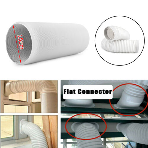 Universal Portable Air Conditioner Exhaust 6 inch Width Hose