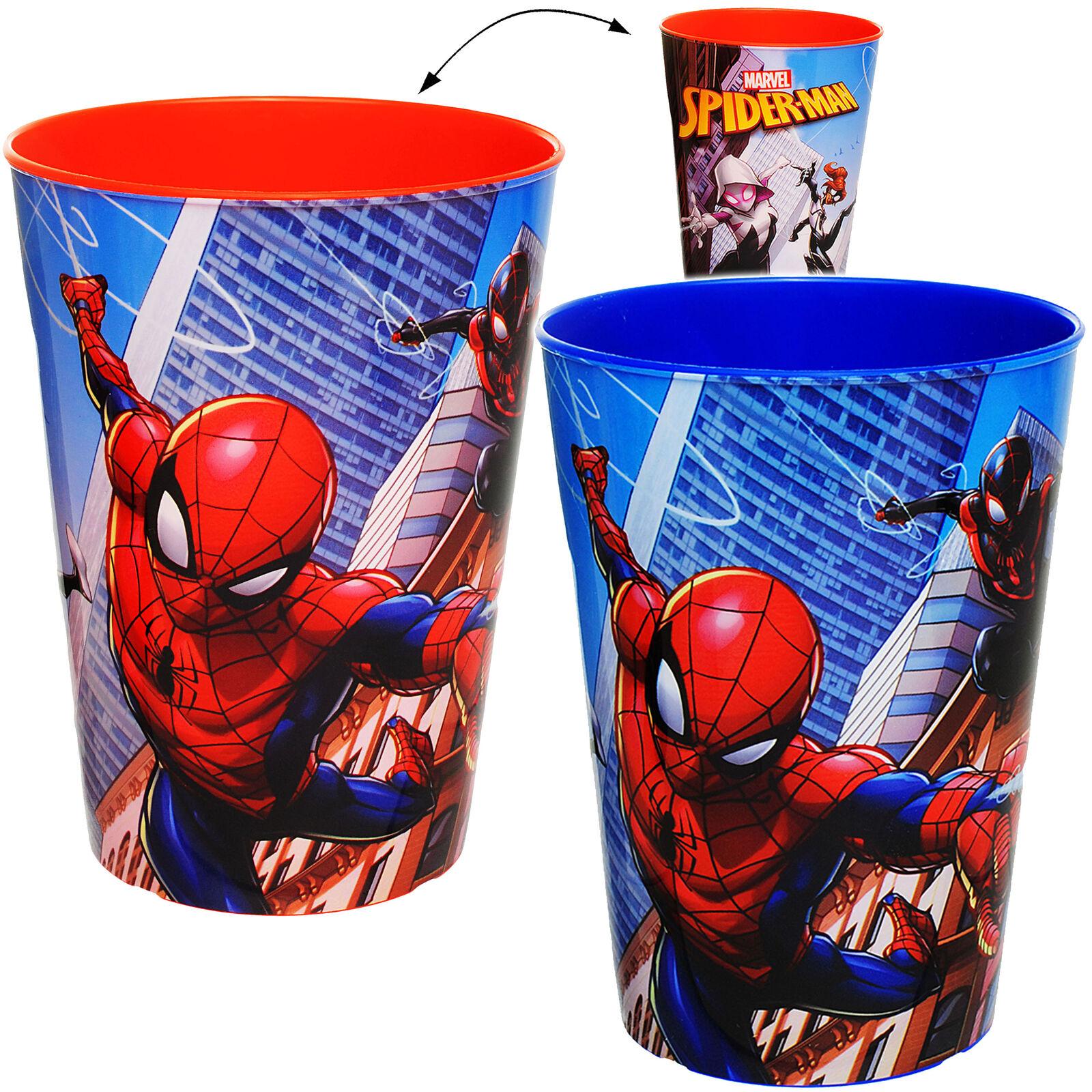 "3 in 1 - Trinkbecher / Zahnputzbecher / Malbecher - Becher - "" ultimate Spider-M"