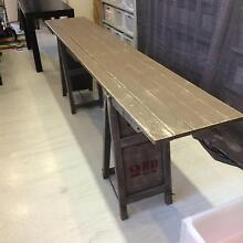 Rustic Old Fashioned Trestle Table Waverley Eastern Suburbs Preview