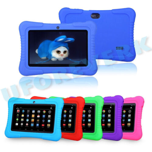 "Tablet PC 16GB 7"" Android Wifi Quad Core Educational Apps Best Gift For Kids"