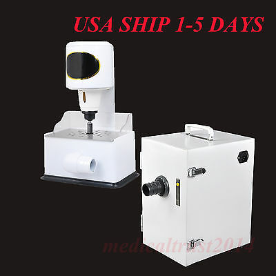 Usa Dental Lab Digital Vacuum Air Dust Collector Grind Inner Grinder Trimmer