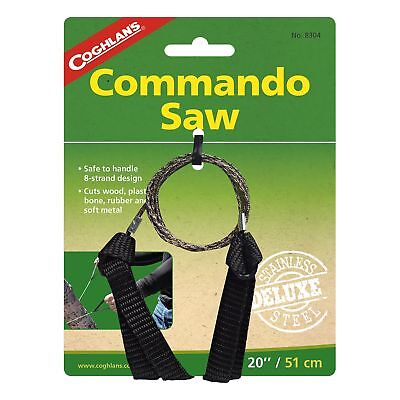 Pocket Saw - Coghlan's Commando Pocket Rope Saw Stainless Steel 20