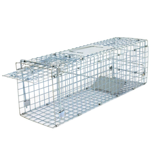 Live Animal Cage Mouse Trap Rat Hamster Catch Control Bait Hunting Survival New Hunting