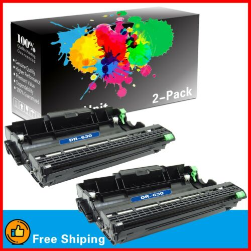 2PK DR-630 DR630 Drum Unit for Brother HL-L2340DW HL-L2320D MFC-L2700D