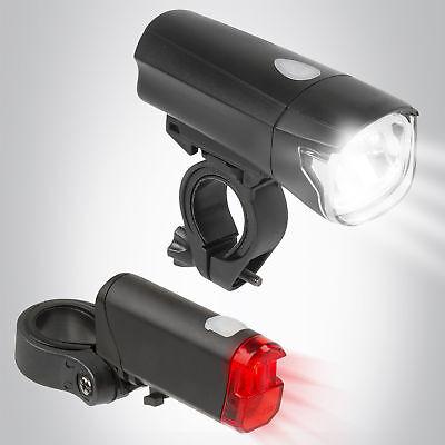 Bergsteiger LED Fahrradbeleuchtung Fahrrad Licht Fahrradlampe Lampenset