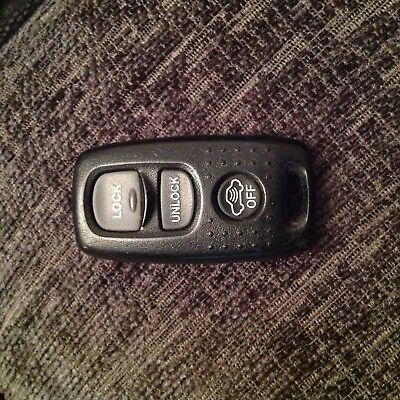 MAZDA  3 BUTTON REMOTE ALARM CAR KEY FOB  VISTEON 41804 rx8 2-3-6 323 -626