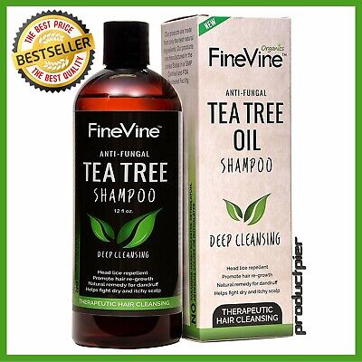 Best Tea Tree Oil Shampoo  for Men, Women and Kids - Prevent Hair Dandruff,