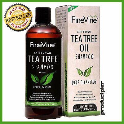 Best Tea Tree Oil Shampoo  for Men, Women and Kids - Prevent Hair Dandruff, (Best Tea Tree Oil Shampoos)