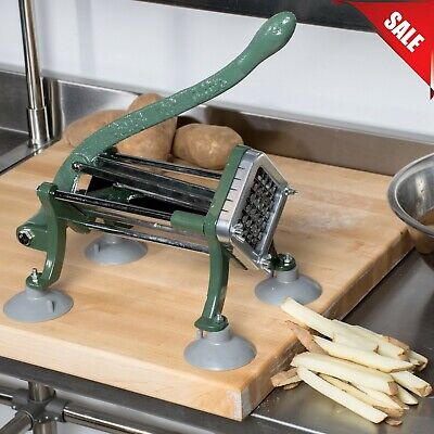12 Commercial Restaurant Pub Countertop French Fry Potato Cutter Slicer Dicer