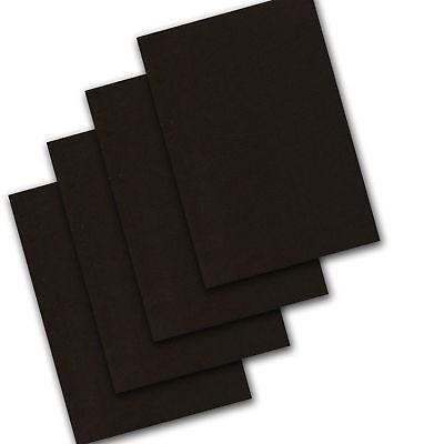 Black Cards A4 Halloween Make Mask Kids Art Craft Scrap Paper Sheets 160gsm
