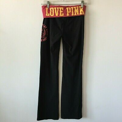 Pink Victoria's Secret Stretch Pants Yoga Gym Sports USC Trojans Women's Small S for sale  Shipping to South Africa