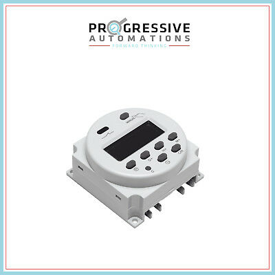 Digital Programmable Timer Switch - 12vdc - 16a For Progressive Automations