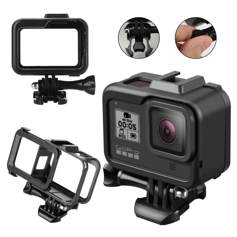 Accessories Case Cover for GoPro Hero 8 Black Camera Protective Shell Frame New