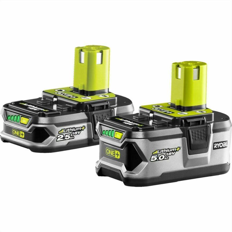Ryobi 18v One+ 2.5/5.0ah Lithium+ Battery Combo - Japan Brand