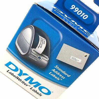 GENUINE DYMO LABELWRITER 99010 STANDARD ADDRESS LABELS 28MM X 89MM S0722370 Dymo Standard Labelwriter