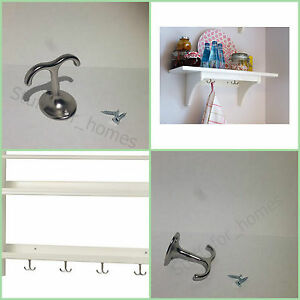 ikea stenstorp under shelf hook mounting hanger mugs