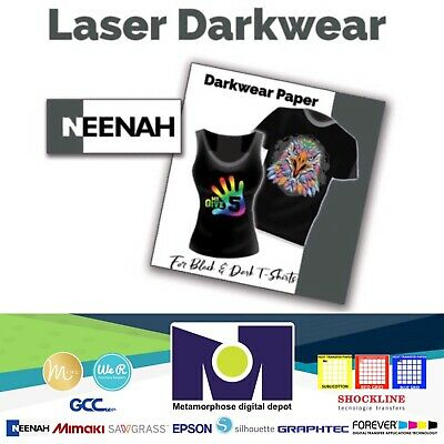 Neenah Coldenhove Laser 1 Opaque Heat Transfer Paper For Dark Tshirt 8.5x11 50pk