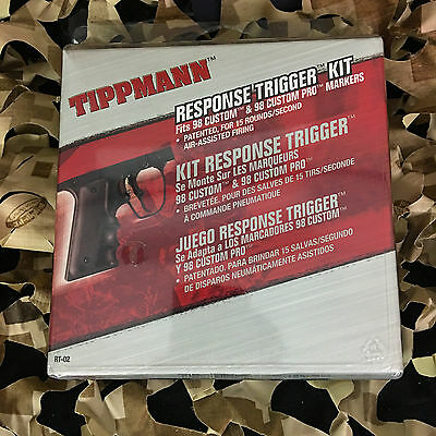 NEW Tippmann 98 Custom RT Paintball Response Trigger Kit (RT-02)