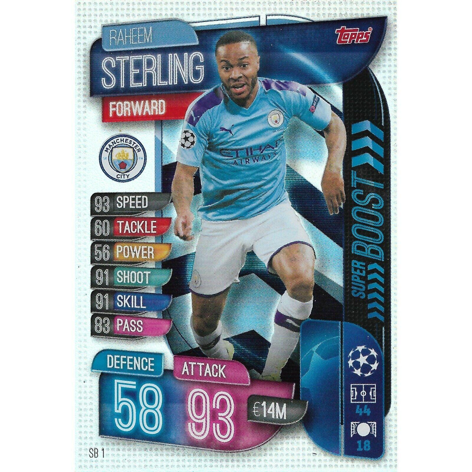 "Match Attax Extra 19//20 /""Sergio REGUILON/"" #SB19 Super Boost Trading Card"