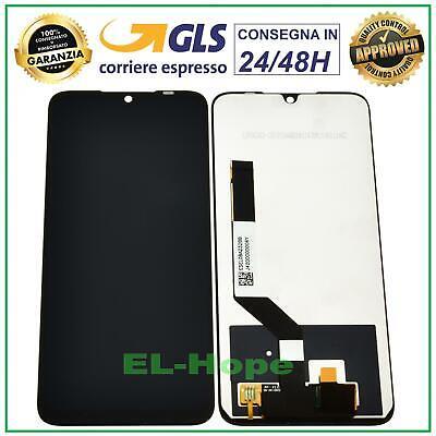 DISPLAY LCD XIAOMI REDMI NOTE 7 / 7 PRO TOUCH SCREEN SCHERMO MONITOR VETRO NERO