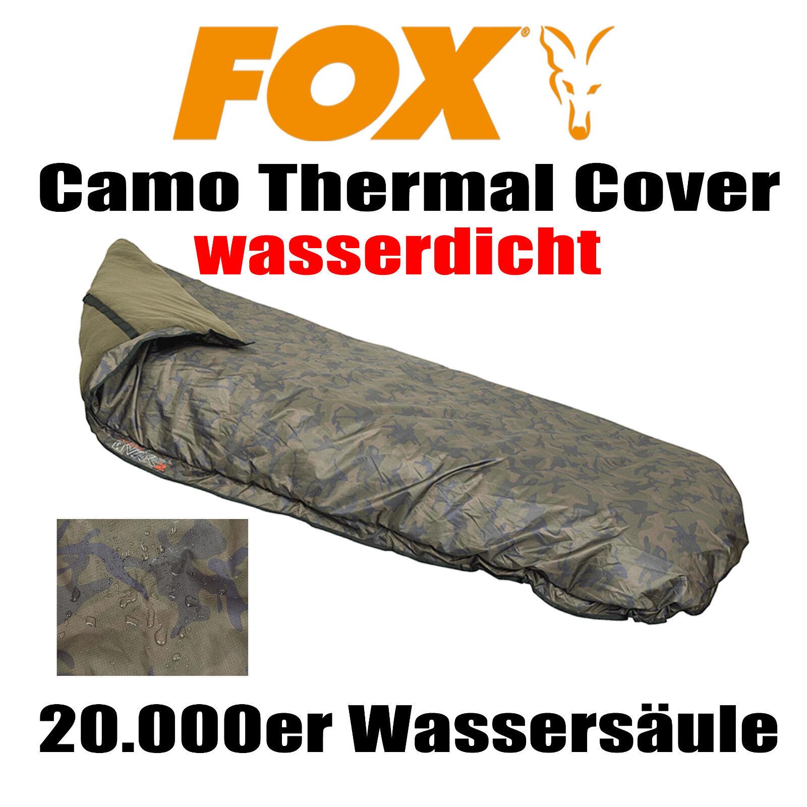 Fox Camo Thermal Cover - VRS1 VRS2 VRS3 Thermo Fleece Decke Karpfen Angeln