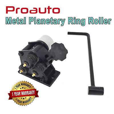 Proauto Metal Rod Ring Planetary Bender Flat Round Wheel Roller Former Machine