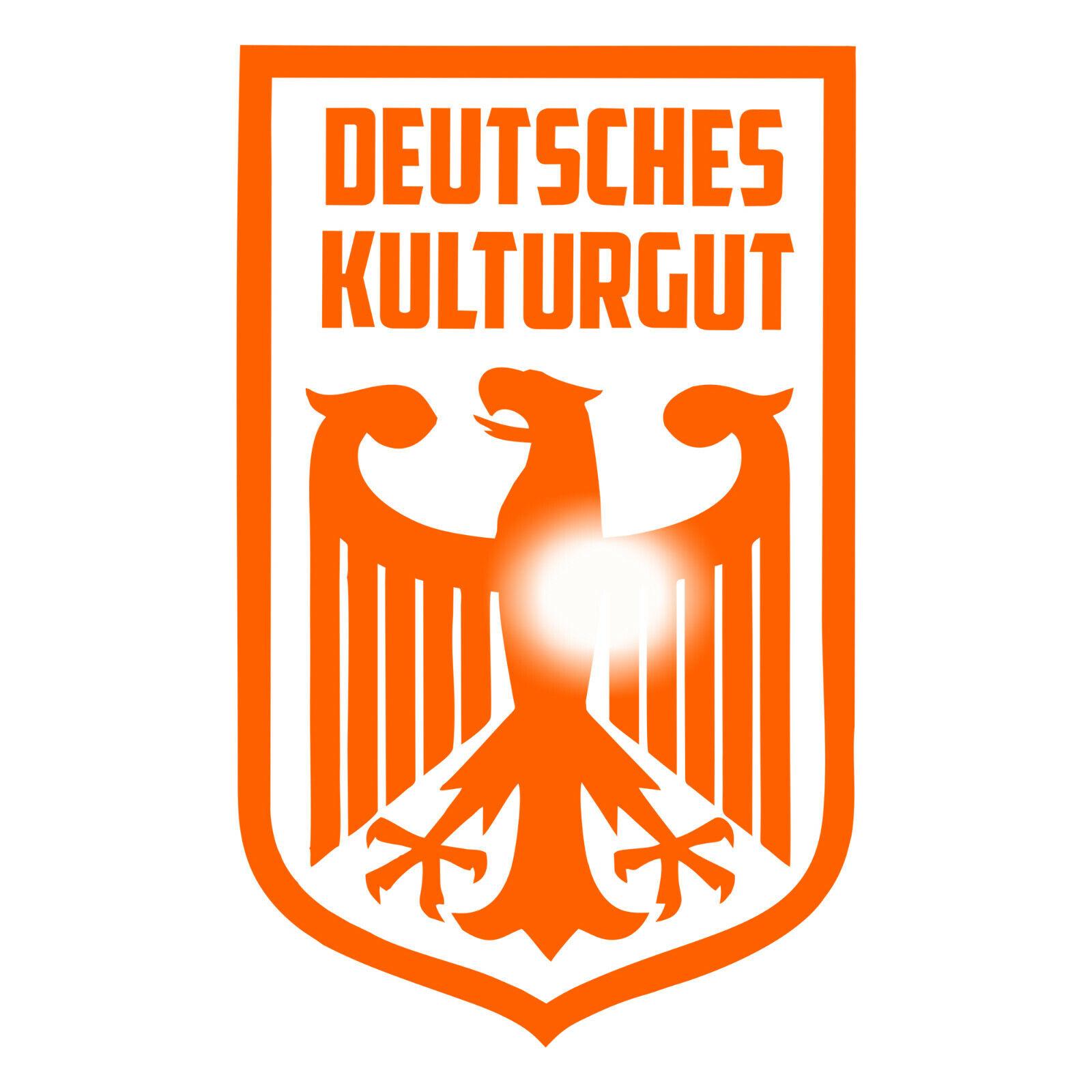 Deutsches Kulturgut Plott Aufkleber Sticker Stickerbomb Tuning OEM Osten MZ BRD