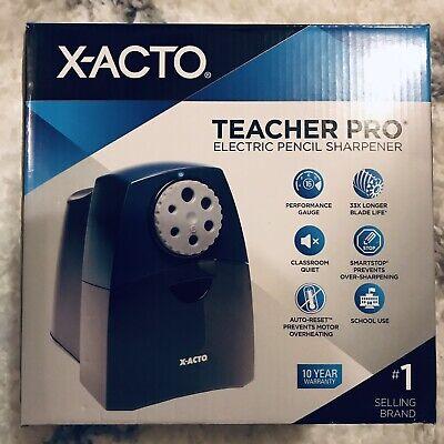 X-acto Teacherpro Classroom Electric Pencil Sharpener - Blue Pl7